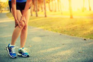 slemsäcksinflammation knä
