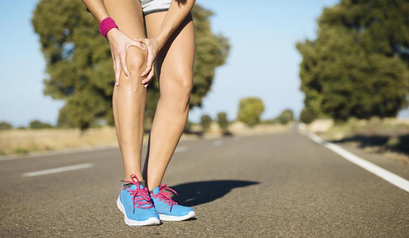 Löparknä behandling